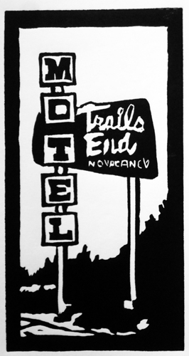 Trail's End Motel Colfax Denver Colorado